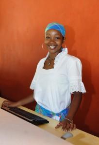 Hôtesse d'accueil en Martinique