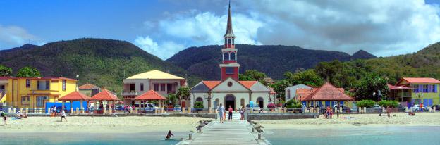 Martinique - anse d'arlet