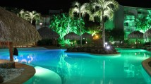 HotelLaPagerie-Piscine_Nuit_1