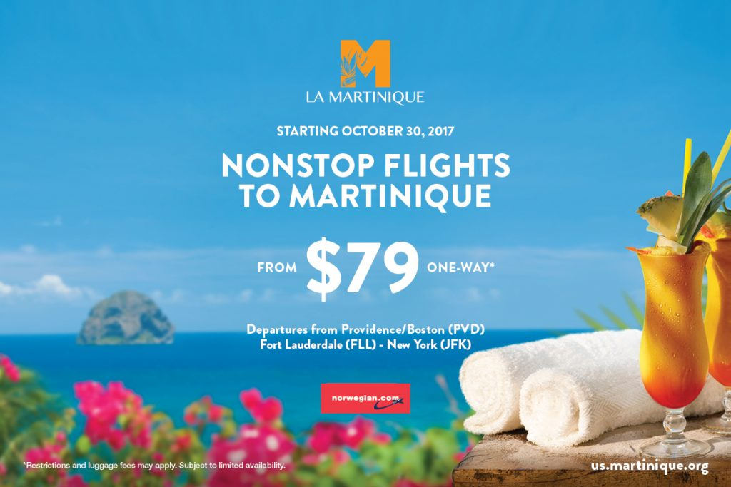 Exceptionnel NEW FLIGHTS FROM US TO MARTINIQUE | Trade Martinique ZW05