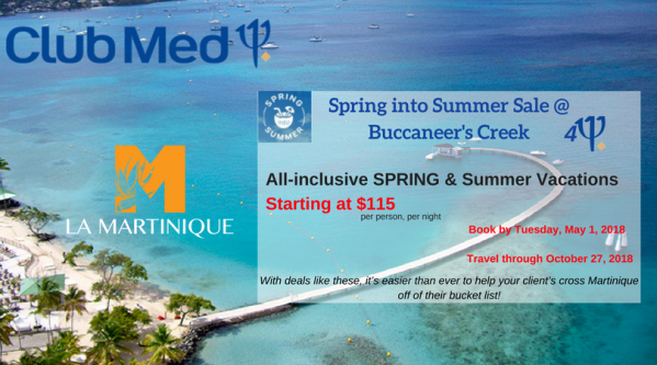 Club Med Spring into Summer Sale